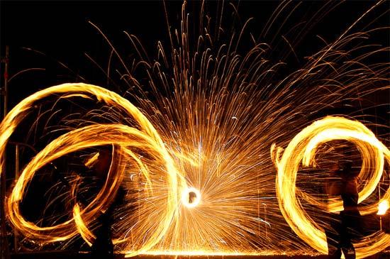 Feuerperformance SAM&more