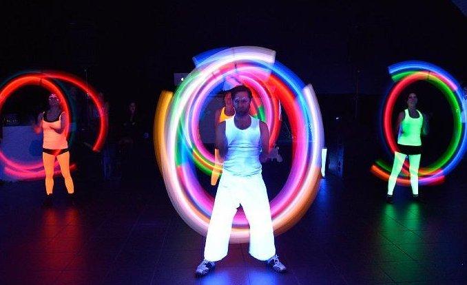 Performance mit LEDs