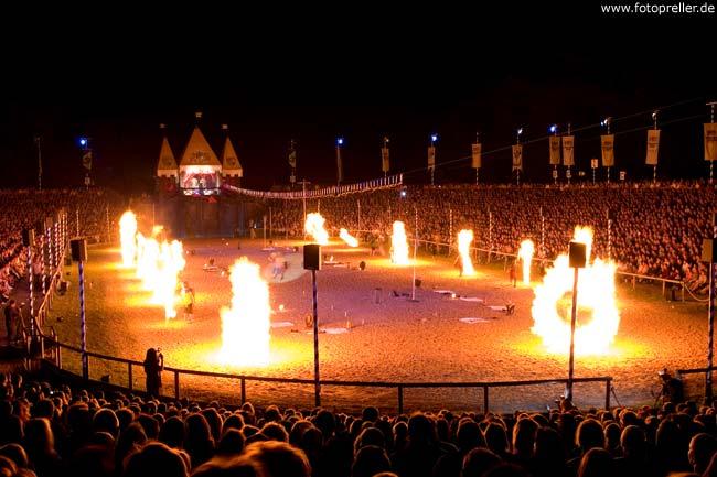 Feuershow Ulm Kaltenberg