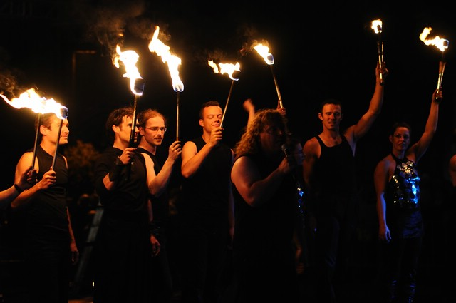 Feuerzuaber Feuershow