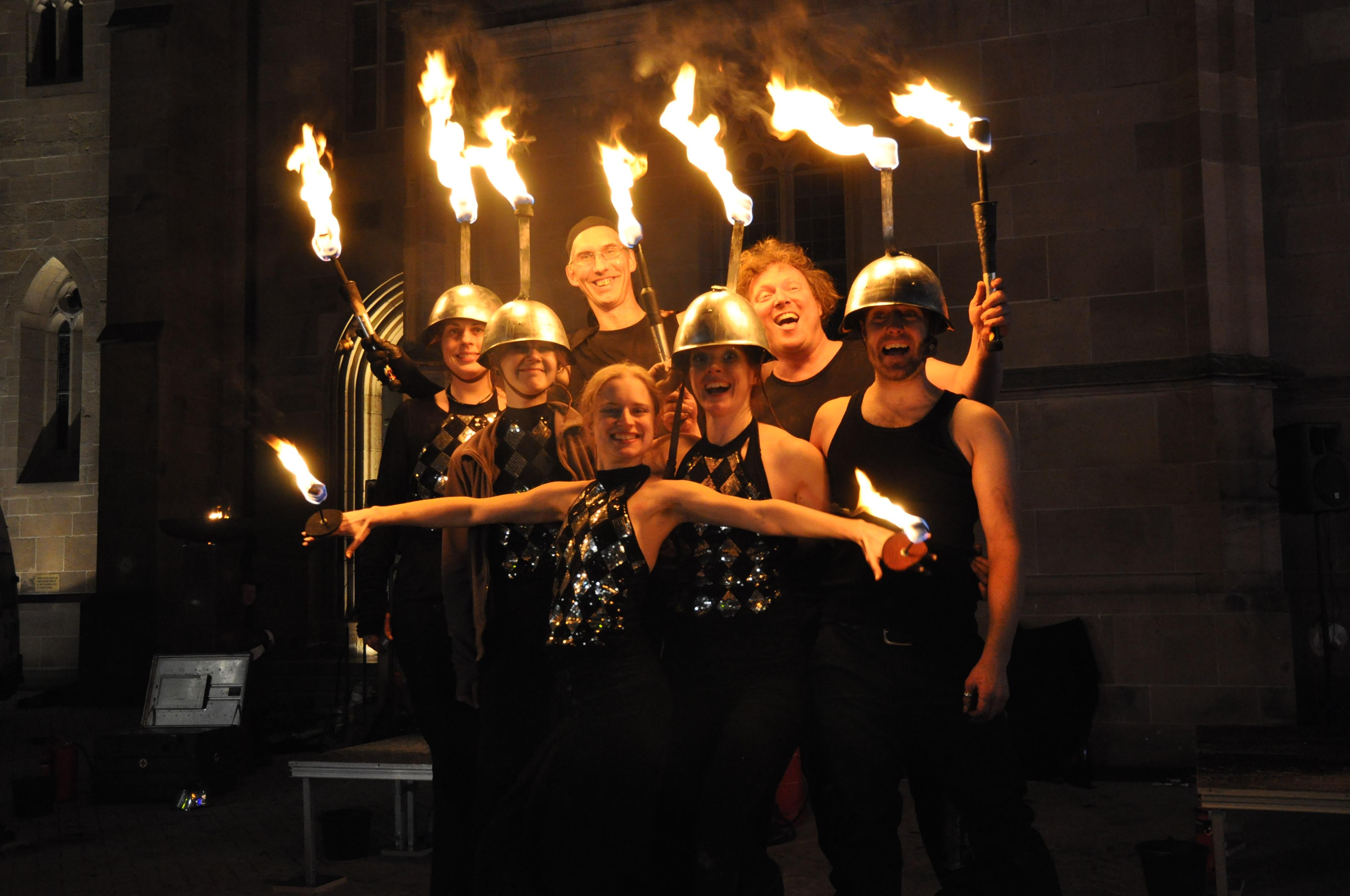 Heilbronn Feuershow