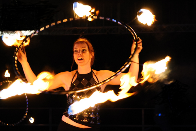 Feuershow Luxemburg