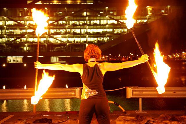 Feuershow Norddeutschland