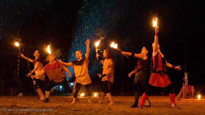 Kaletnerger Ritterspiele Ulm Feuershow