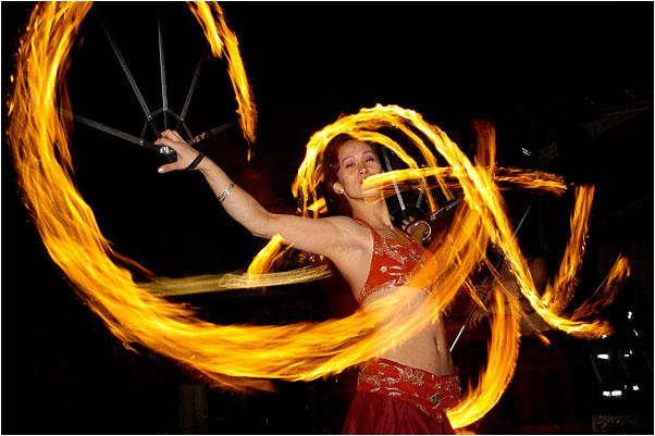 Firedance orintal