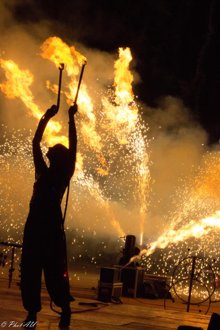 Feuershow All Inklusive
