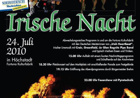 Irische Nacht Höchstadt