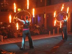 Feuershow Indoor